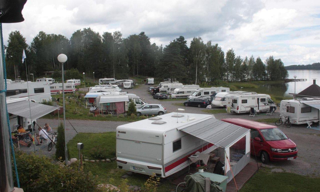Caravans in Leininranta