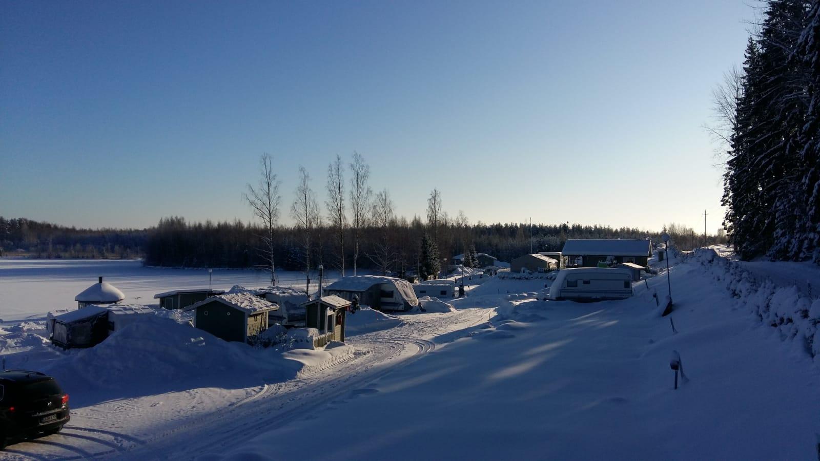 Leininrannan talvimaisemaa