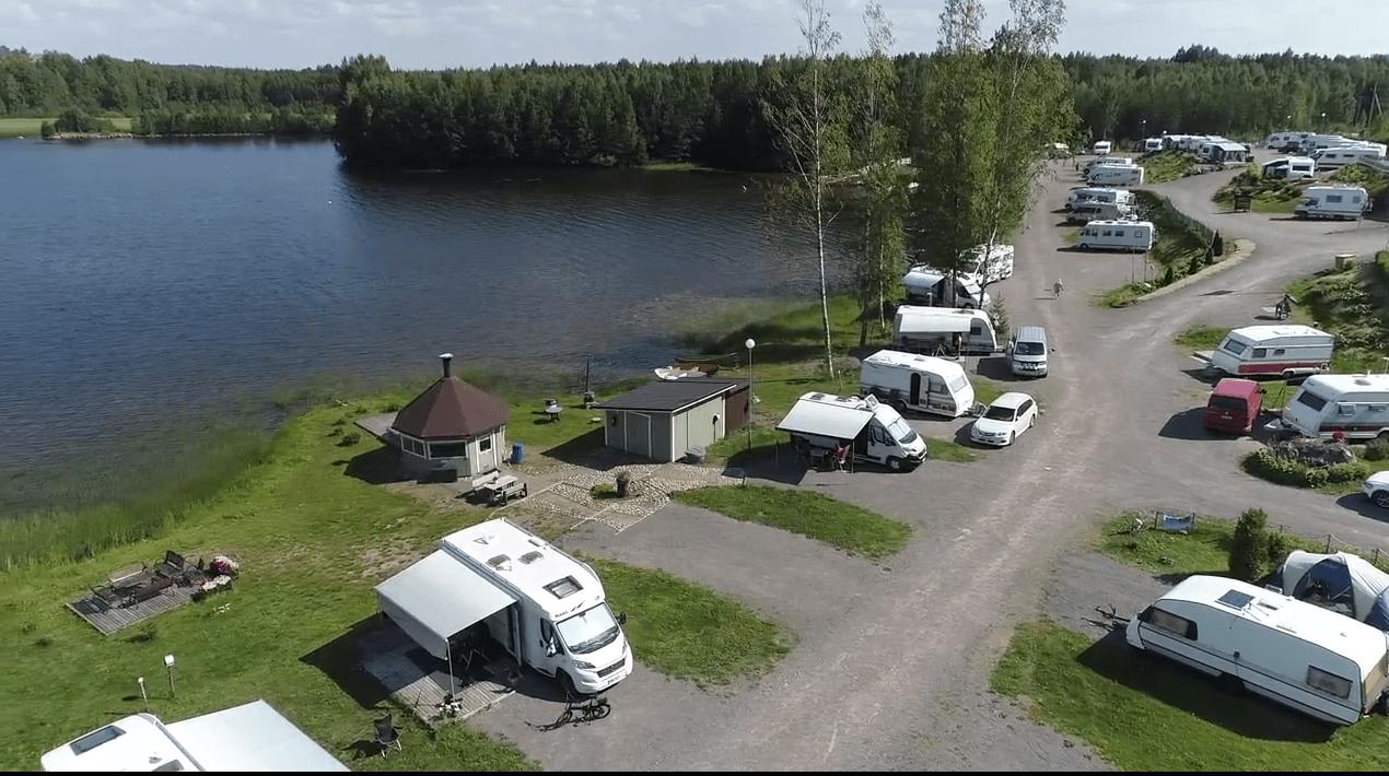 The beach landscape of Leininranta