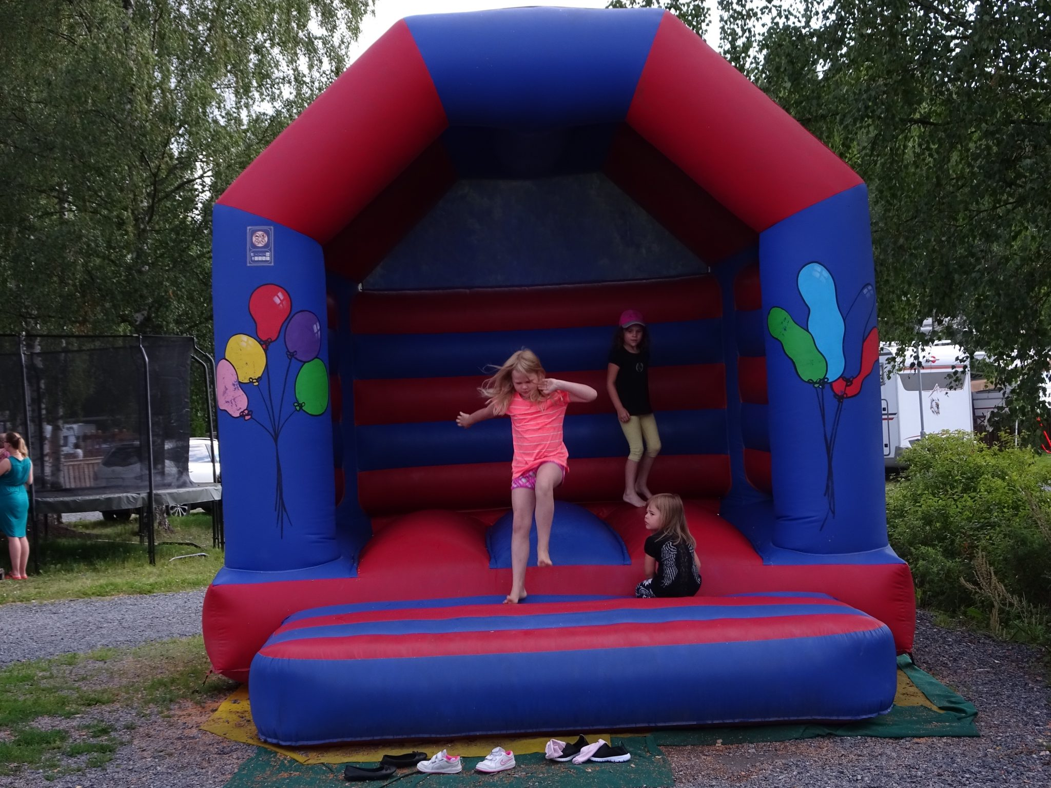 Bouncing castle in Maisansalo