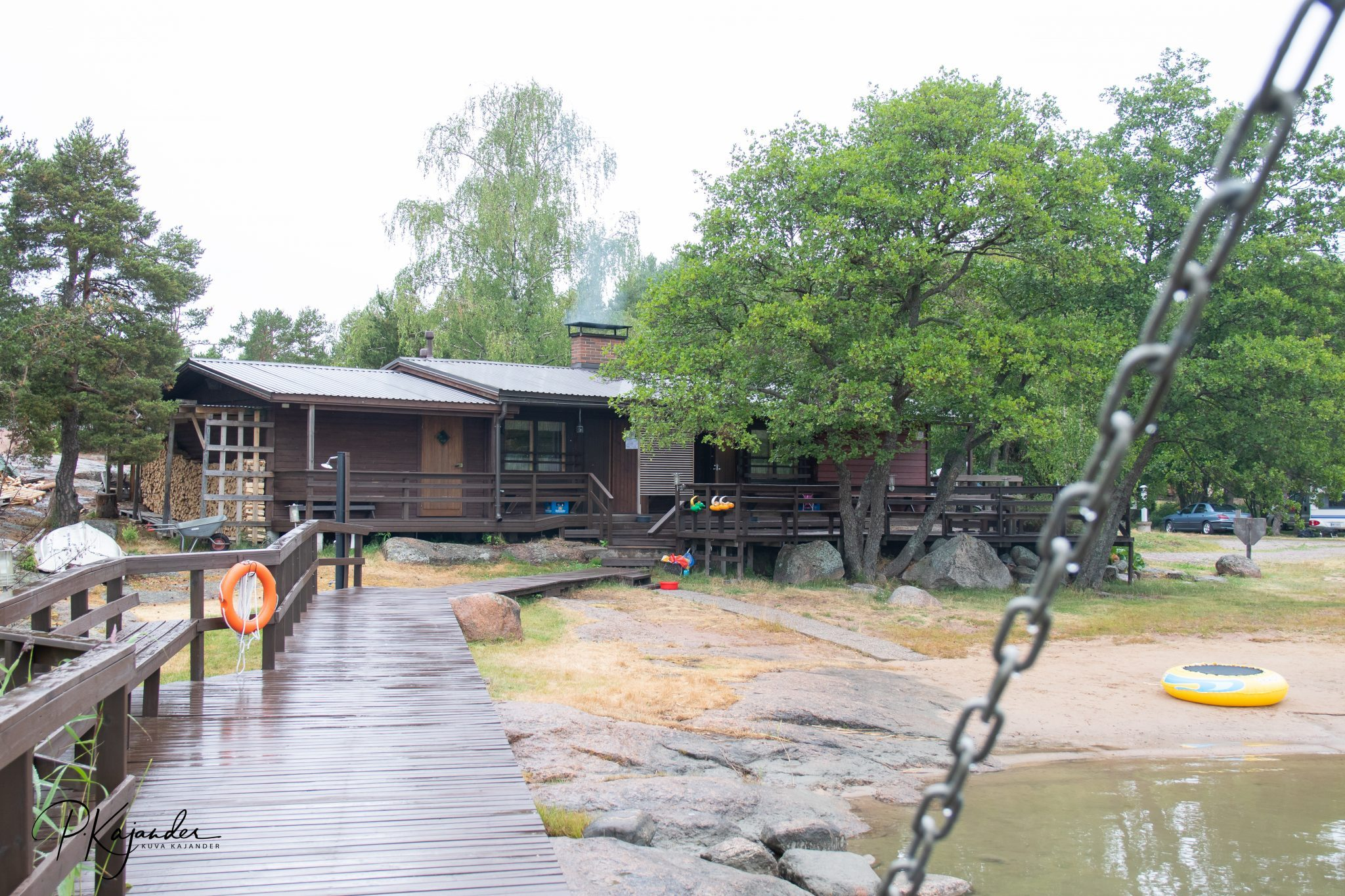 The sauna building of Mussalo