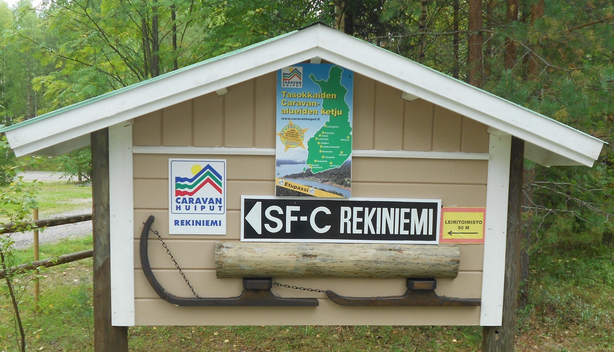 Sign of Rekiniemi