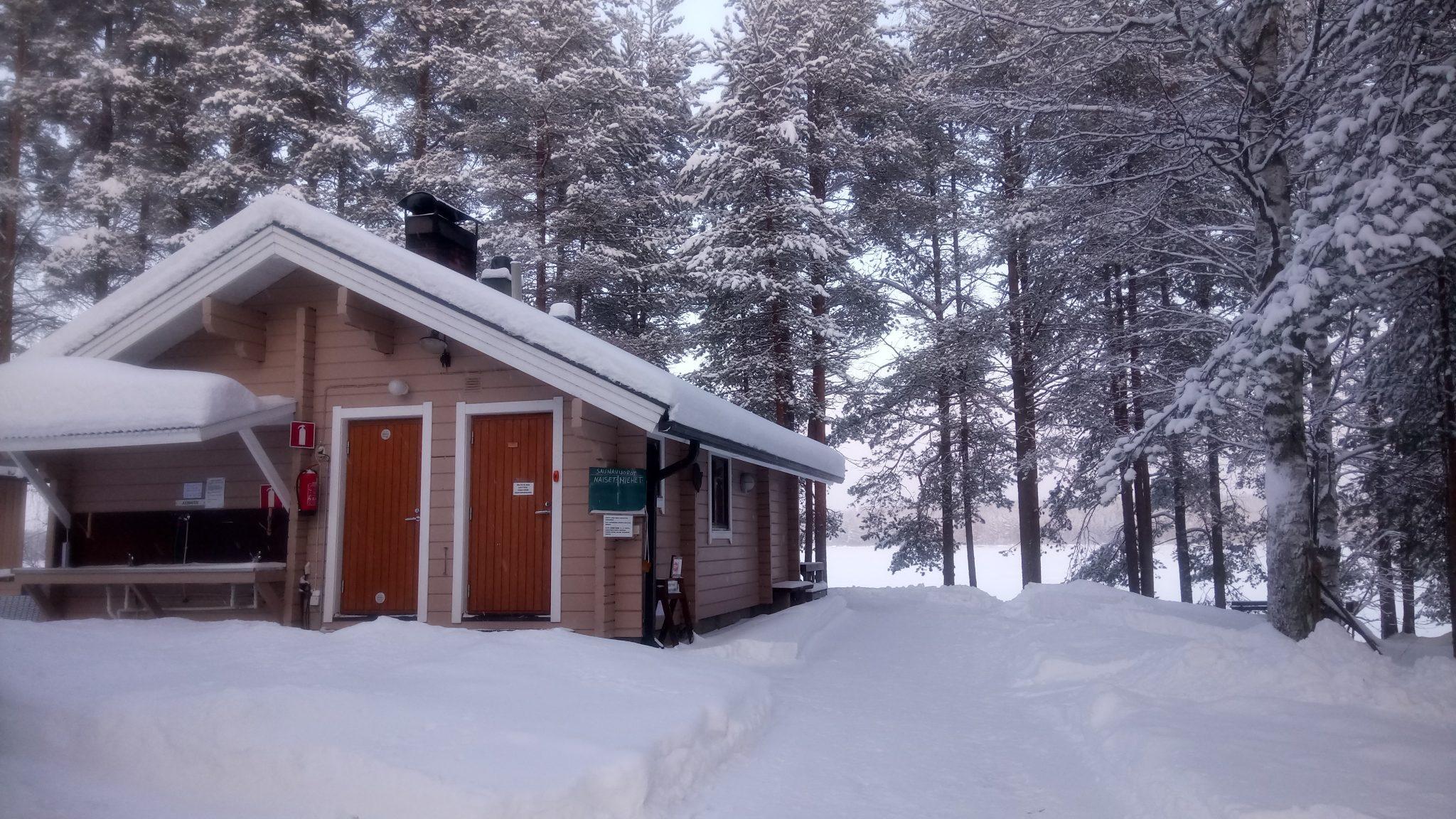The sauna building of Rekiniemi