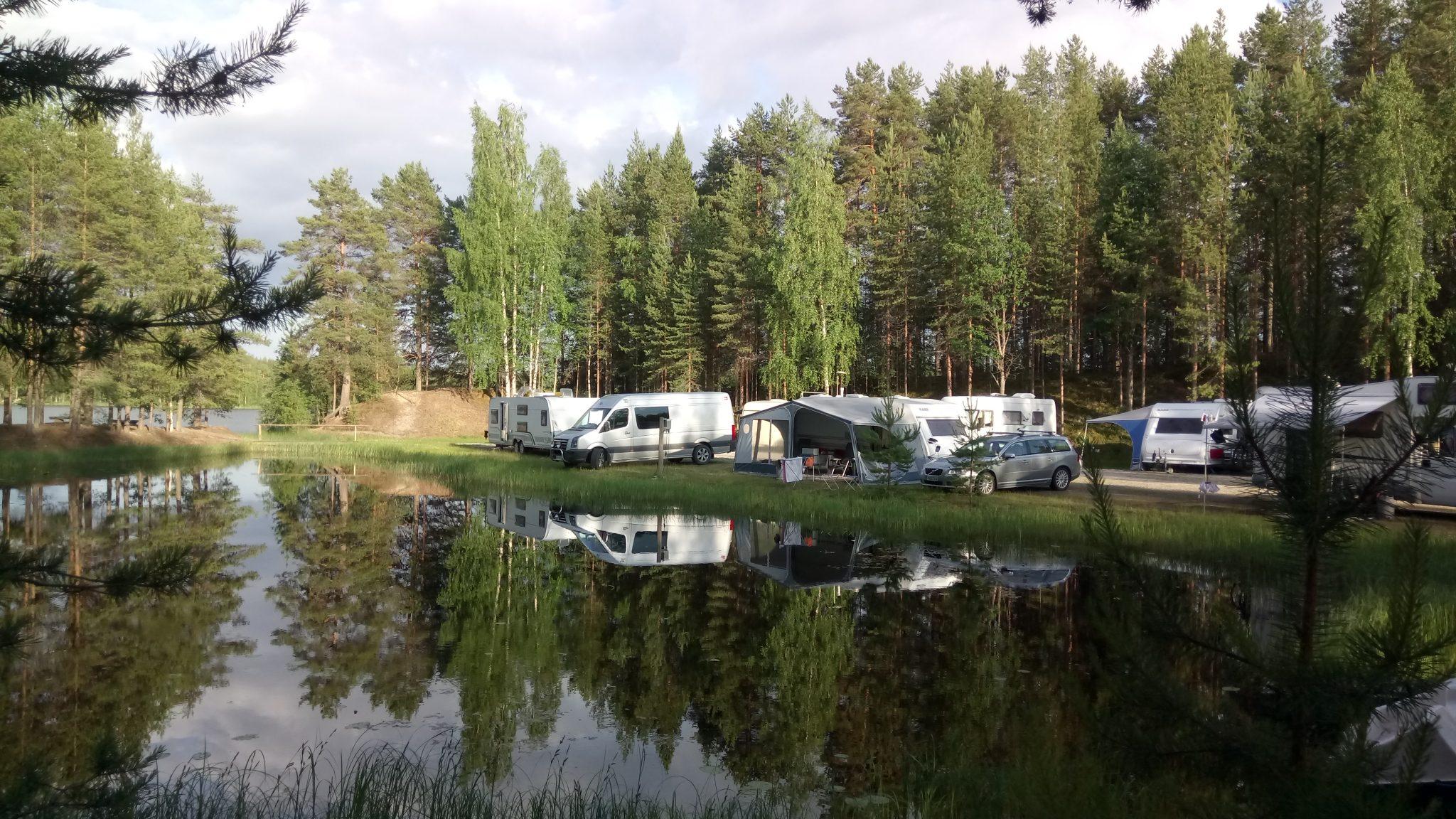 Caravans in Rekiniemi
