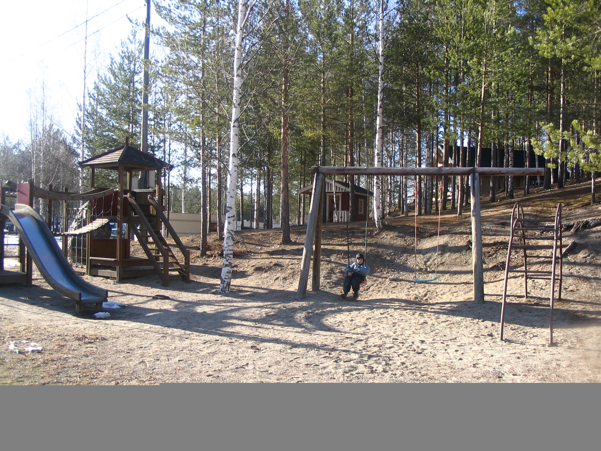 The playground of Rekiniemi