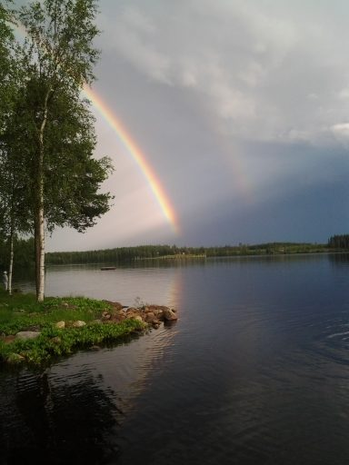Rainbow in Sexsjö